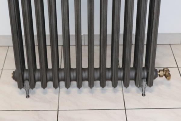 pied radiateur fonte